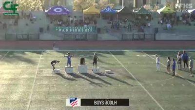 High School Girls' 200m, Finals 1