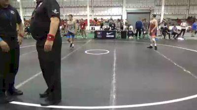 70 kg Prelims - Antonio Petrucelli, Pittsburgh Wrestling Club vs Parker Kropman, Pennsylvania RTC