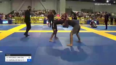 OMAR ANTONIO LIMA SALUM JUNIOR vs DANIEL CARVALHO DA S. REGO 2021 American National IBJJF Jiu-Jitsu Championship