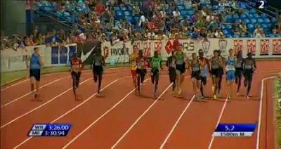 Zagreb 1500m - Makhloufi dominates