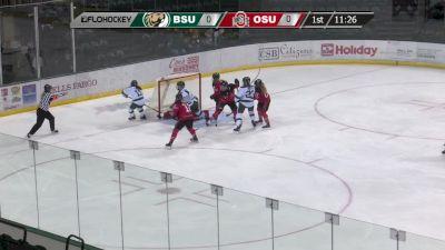 WCHA Women's Highlights: Bemidji State Holds Off Ohio State 2-1