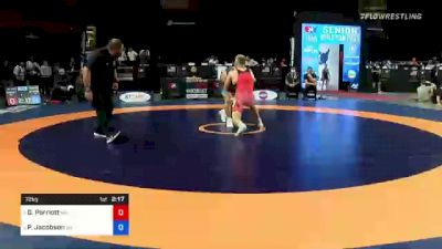 72 kg Consi 4 - Griffin Parriott, Minnesota vs Payton Jacobson, Wisconsin
