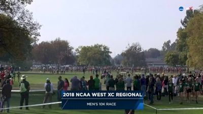 2018 DI NCAA West XC Regional Men's 10k