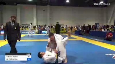 VINICIUS LINO WONG vs MIHA PERHAVEC 2021 American National IBJJF Jiu-Jitsu Championship