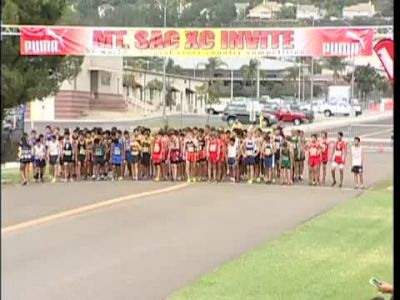 Race #82 B D2 Soph Yellow Mt Sac Cross Country Invitational