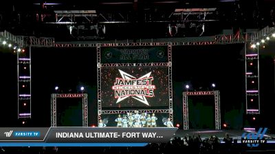 Indiana Ultimate- Fort Wayne - Electric Blue [2020 L5 Senior Coed - Small Day 1] 2020 JAMfest Cheer Super Nationals