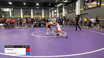 61 kg Consolation - Jaxon Maroney, Pennsylvania RTC vs Gabriel Hixenbaugh, Buies Creek Wrestling Club