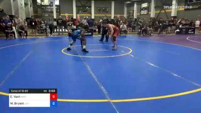 70 kg Consolation - Evan Yant, Panther Wrestling Club RTC vs Manzona Bryant, Lehigh Valley Wrestling Club