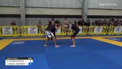 MICHAEL EDWARD SOTELO JR vs JACK DANIEL MONTGOMERY 2021 Pan IBJJF Jiu-Jitsu No-Gi Championship
