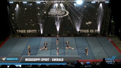 Mississippi Spirit - Emerald [2021 L1.1 Youth - PREP - Small - A Day 2] 2021 The U.S. Finals: Pensacola