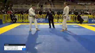 J. BREYLOR GROUT vs MASON EDWARD FOWLER 2020 Pan Jiu-Jitsu IBJJF Championship