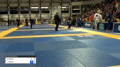 DIMITRIUS SOUZA vs LUIZ PANZA 2018 World IBJJF Jiu-Jitsu Championship