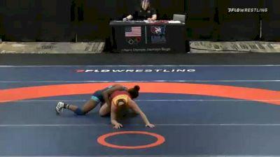 53 lbs Rr Rnd 2 - Katherine Shai, Team Burkert vs Ronna Heaton, Team Miracle