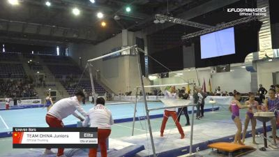 Team China Juniors - Bars, Official Training - 2019 City of Jesolo Trophy