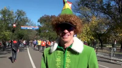 John Miller runs best NYC Marathon with Naughty List in Central Park