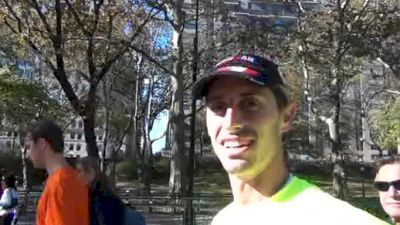 Richard's 20th marathon as a blind runner