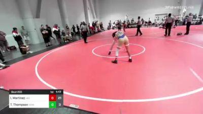145 lbs Rr Rnd 3 - Isaiah Martinez, Jag Way vs Trevor Thompson, Dominator