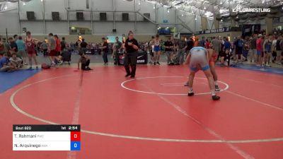 74 kg Consi Of 32 #1 - Taleb Rahmani, Pittsburgh Wrestling Club vs Nate Arquinego, Askren Wrestling Academy