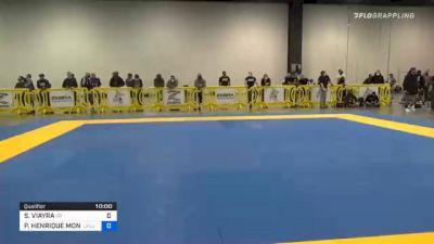 SAUL VIAYRA vs PEDRO HENRIQUE MONTEIRO PALHARES 2020 IBJJF Pan No-Gi Championship
