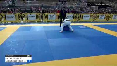 MARKYLE CAILLOU BOUIE vs JAD CHRISS URRIBARRI 2021 Pan Kids Jiu-Jitsu IBJJF Championship