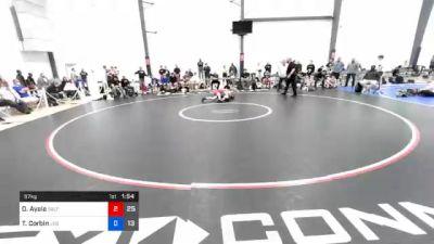 57 kg 3rd Place - Drake Ayala, Sebolt Wrestling Academy vs Tristan Corbin, JK Squad