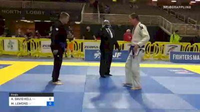 ANTHONY DAVID KELL vs MICHAEL LEMOND 2020 World Master IBJJF Jiu-Jitsu Championship