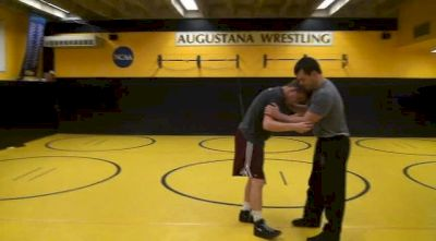 Eric Juergens - Front Headlock to Ankle Pick