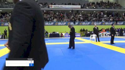 THAMARA FERREIRA SILVA vs DANIELLE RENEE ALVAREZ 2020 European Jiu-Jitsu IBJJF Championship