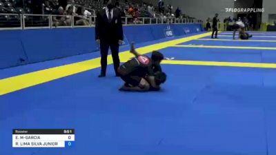 ESTEVAN G MARTINEZ-GARCIA vs ROITER LIMA SILVA JUNIOR 2021 World IBJJF Jiu-Jitsu No-Gi Championship