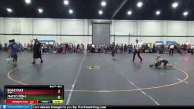 50 lbs Round 1 - Boaz Diaz, Iowa vs Mateo Pena, South Carolina