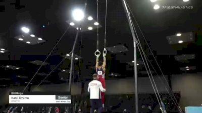 Kanji Oyama - Still Rings, USOPTC - 2021 Winter Cup & Elite Team Cup