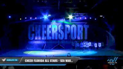 Cheer Florida All Stars - Sea Warriors [2021 L6 Senior - XSmall Day 2] 2021 CHEERSPORT National Cheerleading Championship