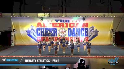 Dynasty Athletics - Fame [2021 L4 Junior - D2 - Small Day 2] 2021 The American Celebration DI & DII