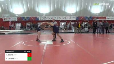 197 lbs Semifinal - Michael Beard, Unattached vs Andrew Davison, Michigan