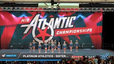 Platinum Athletics - Sister PAC [2020 L3 Youth Day 1] 2020 Mid-Atlantic Championships