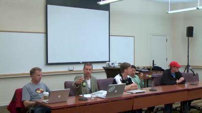 Professional Track & Field Summit - Panel 1, Part 1