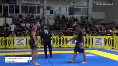Flavio Henrique Candido Lara vs Edgar Gamboa 2021 Pan IBJJF Jiu-Jitsu No-Gi Championship