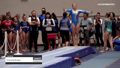 Krista McGregor - Tumbling - 2019 Canadian Gymnastics Championships - TG