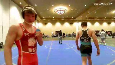 149 lbs Semifinal - Cael Weidemoyer, Lion's Den Wrestling Club vs Cody Pritzlaff, Edge Wrestling
