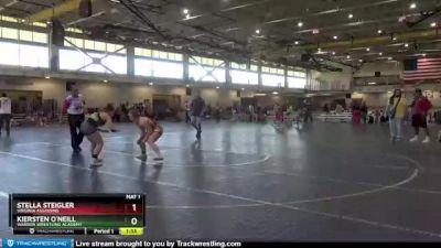 152 lbs 1st Place Match - Kiersten O`Neill, Warren Wrestling Academy vs Stella Steigler, Virginia Assassins