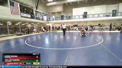 145 lbs 1st Place Match - Lizzie Shunn, Westlake vs Taylor Martin, Westlake