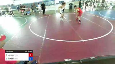 132 lbs 2nd Place - Ezekiel Lazcano, Phox Raw WC vs Jesse Jimenez-Moore, Socal Rippers
