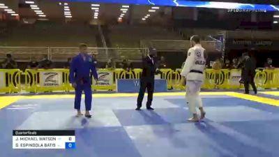JAKE MICHAEL WATSON vs GUSTAVO ESPINDOLA BATISTA 2020 Pan Jiu-Jitsu IBJJF Championship