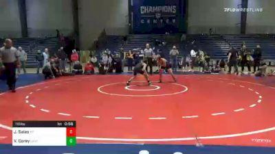 110 lbs Final - Joaquin Salas, Morris Fitness vs Viggo Corey, Level Up