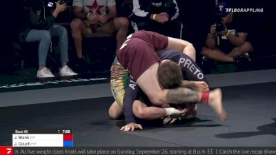 Reverse Triangle from Bottom Side Control for Jon Blank