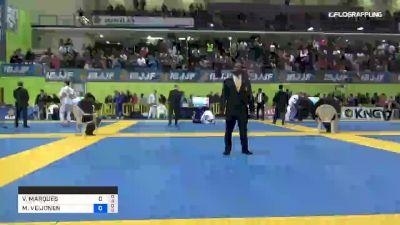 VICTOR MARQUES vs MIKKO VEIJONEN 2019 European Jiu-Jitsu IBJJF Championship