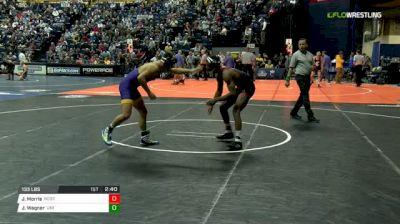 133 lbs Consi of 8 #1 - Jamel Morris, NC State vs Jack Wagner, Northern Iowa