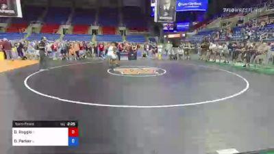 182 lbs Semifinal - Dante Roggio, Idaho vs Deanthony Parker, Illinois