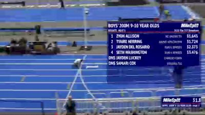 Youth Boys' 200m, Finals 4 - Age 9-10