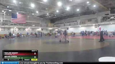 164 lbs Round 2 (4 Team) - Brynn Green, Michigan Revolution Blue vs Taylor Waddy, Missouri Red